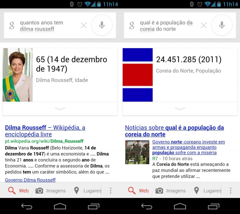 Google Now agora fala português.