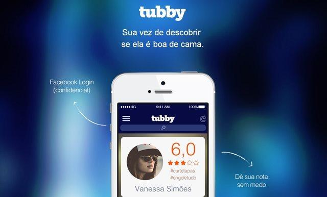 Imagem do site oficial do app Tubby.
