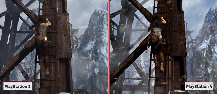 Visual do PS4 ficou mais detalhado.