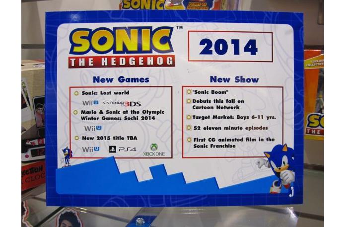 Novo Sonic deve chegar em 2015.