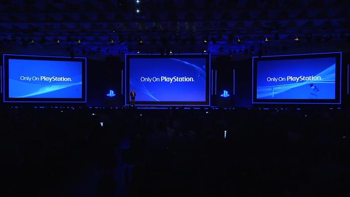 Apresentação da Sony na Gamescom 2014.