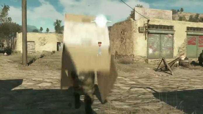 Imagens de Metal Gear Solid 5.