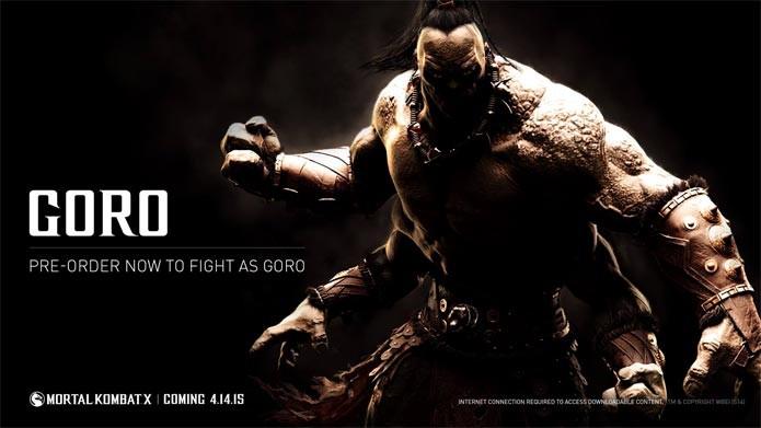 Goro retorna em Mortal Kombat X