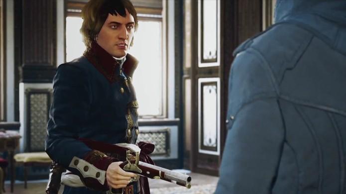 Trailer apresenta uma versão jovem de Napoleão.
