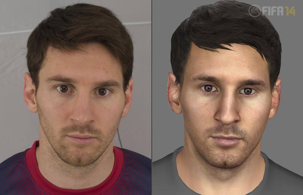 FIFA 15 apresenta um visual cada vez mais real.