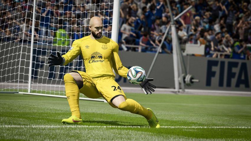 FIFA 15 dá uma nova vida aos goleiros com movimentos muito reais.