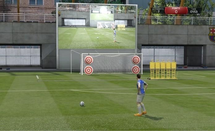 Jogos de Habilidade de FIFA 15 carecem de melhorias.