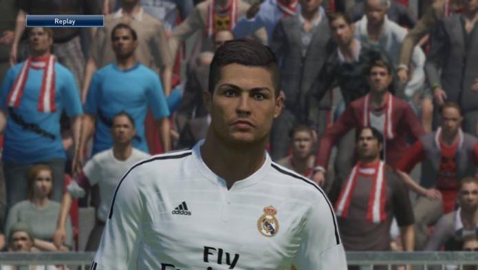 Cristiano Ronaldo é um dos craques presentes em PES 2015.