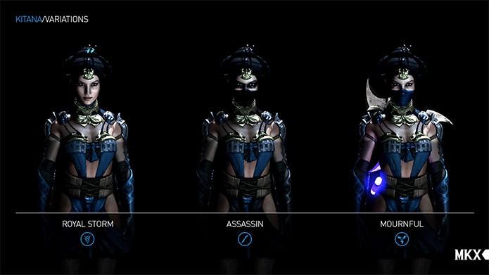 Kitana mostra suas faces no novo Mortal Kombat X.