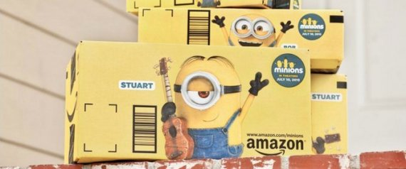 MINIONS-Amazon-Box
