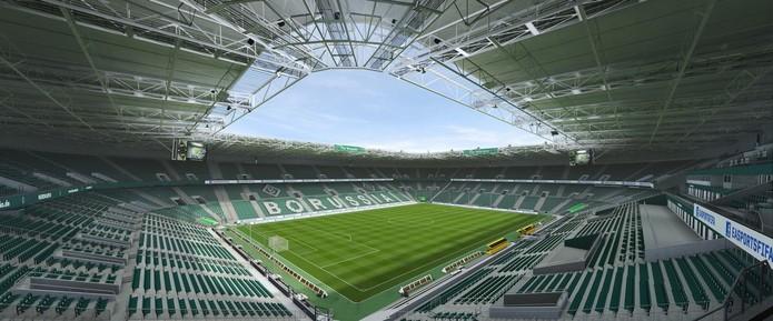 Borussia Park, estádio do Borussia Mönchengladbach estreia em FIFA 16.