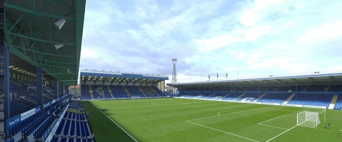Se o Portsmouth não volta à Premier League, pelo menos o Fratton Park será destaque no jogo.