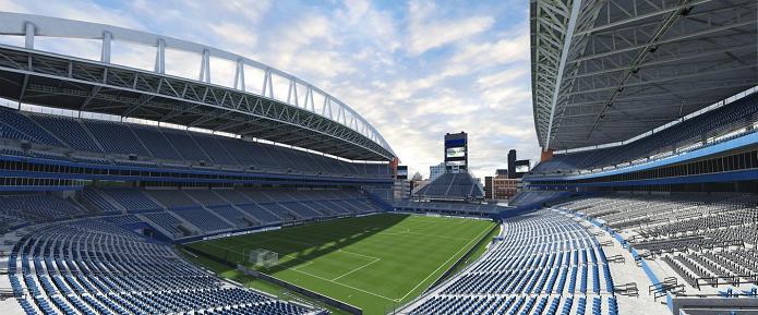 CenturyLink Field, estádio do Seattle Sounders FC está no Fifa 16.