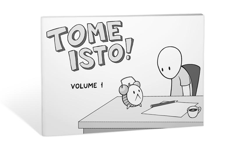 Tome Isto! Volume 1 - Simulação de capa