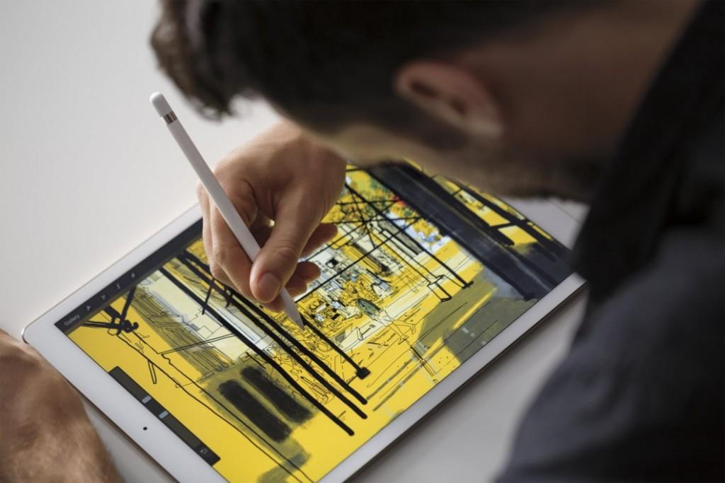 Caneta Stylus que acompanha o iPad Pro.