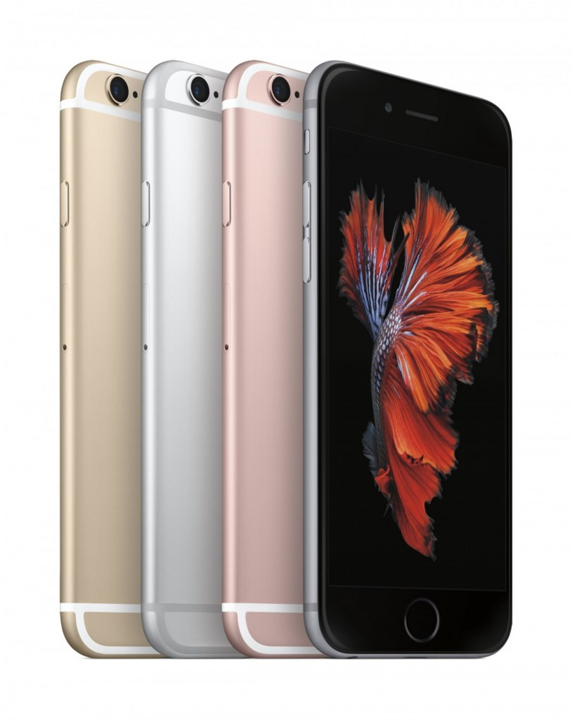 iPhone 6s e suas cores.
