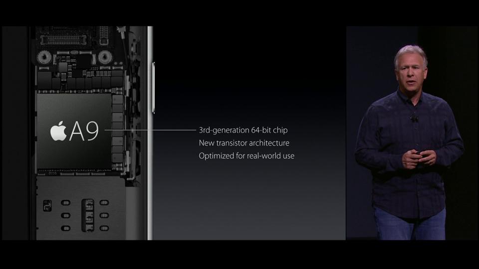 Novos iPhone 6s e iPhone 6s Plus vem com processador A9 x64.