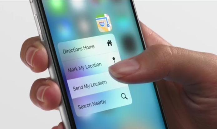Iphone 6s e o novo 3D Touch.
