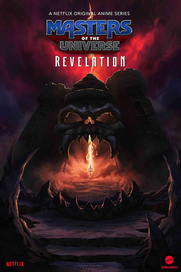 Masters of the Universe Revelation, nova série animada de He-Man, na Netflix.