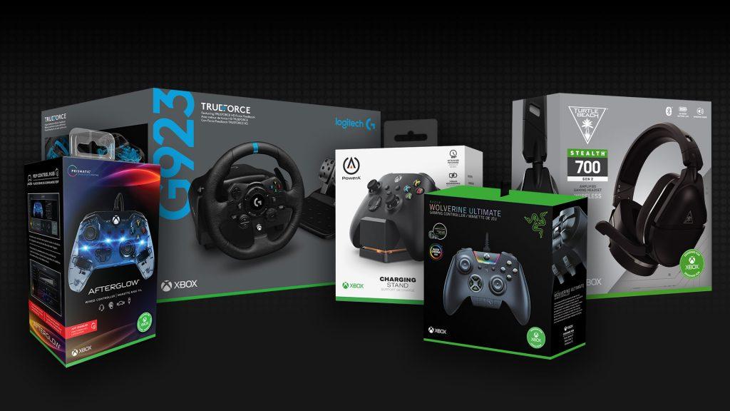 """Linha de acessórios """"Designed for Xbox"""""""