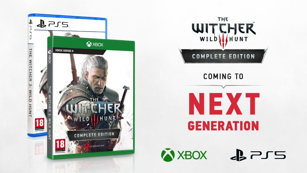 The Witcher 3 para PS5 e Xbox Series X