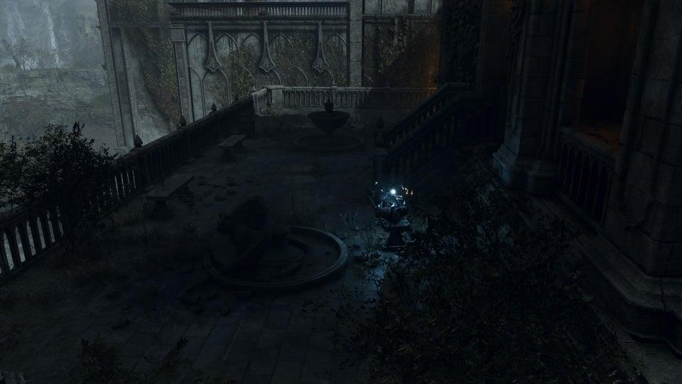 O que há atrás da porta misteriosa de Demon's Souls.