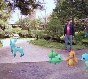 Pokémon GO no Hololens